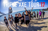 "SiM × coldrain × HEY-SMITH、合同企画""TRIPLE AXE TOUR'17""の詳細発表!"