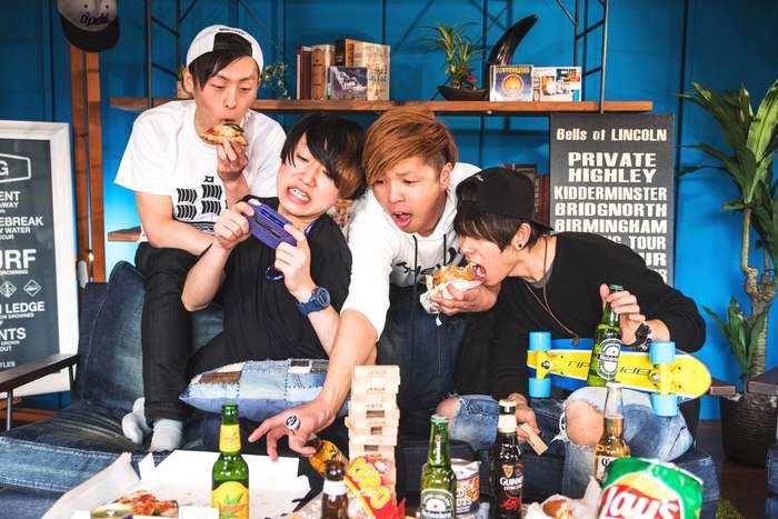 大阪発ポップ・パンク・バンド AIRFLIP、ニューEP『BRAND NEW DAY』リリース决定! ジャケット写真も公開!
