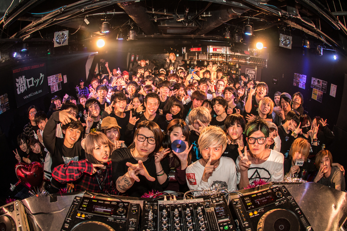 2/11東京激ロックDJパーティーのイベント・レポートをアップ!次回は25(土)大阪、26(日)名古屋にて開催!東京は3/18(土)に111回目記念パーティー@渋谷asiaにて開催!