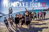 """""""TRIPLE AXE TOUR'17""""、Masato(coldrain)のインフルエンザ発症により延期されていた新木場&沖縄公演の振替日程が決定!"""