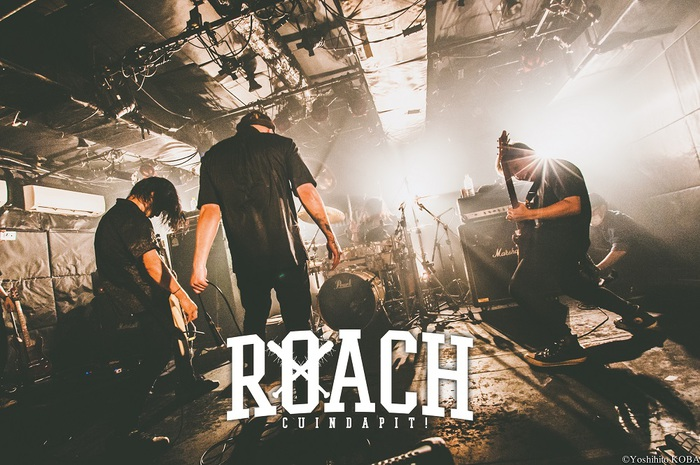 """ROACH、5/12に新宿ANTIKNOCKにて企画ライヴ""""MOSH PIT GIG""""開催決定!"""