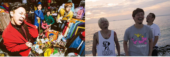 "PAN×SABOTEN共催フェス""MASTER COLISEUM""、9/16に地元 大阪にて2年ぶりの開催決定! 2バンドからコメント動画も!"