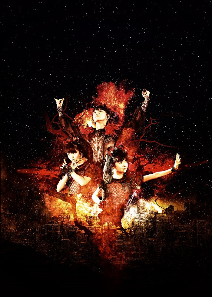 "BABYMETAL、7月より東名阪ツアー""5大キツネ祭り in JAPAN""開催決定!"