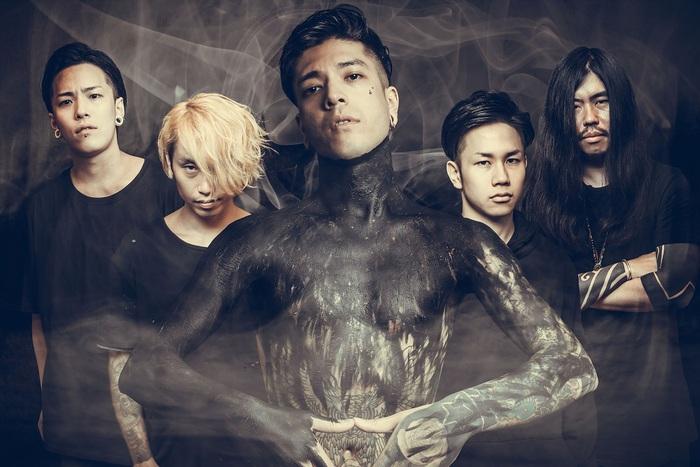 東京発デスコア・バンド INCEPTION OF GENOCIDE、6/14にリリースする1stミニ・アルバム『Bullseye』の詳細発表! 全曲トレーラーも公開!