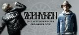 【明日13時迄!】Zephyren(ゼファレン)最新作、期間限定予約受付中!ライダースJKTやスタジャンなどのアウターやボア・ポンチョなど多彩なアイテムがランナップ!