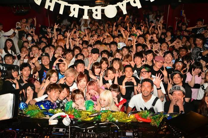 TAKE(FLOW)、ぜんぶ君のせいだ。も出演!400名以上動員で満員御礼!大阪激ロック17周年DJパーティーは大盛況で終了!次回は10/22(日)開催!