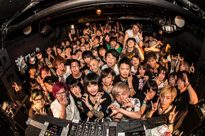 $EIGO(ヒステリックパニック)も出演!東京激ロックDJパーティーは大盛況で終了!次回は8/19(土)渋谷THE GAMEにてナイトタイム開催!