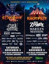 OZZFEST × KNOTFEST、今年もカリフォルニアにて共同開催決定! MARILYN MANSON、STONE SOUR、PROPHETS OF RAGE、DEFTONESら出演!