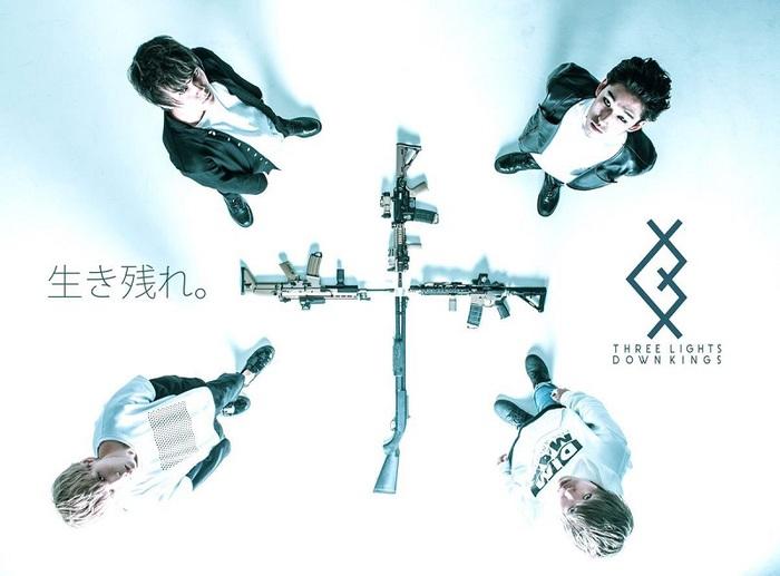 THREE LIGHTS DOWN KINGS、9/25に復活1周年を記念した無料ワンマン・ライヴ開催決定! 11月に東名阪での対バン自主企画も!