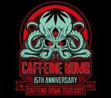 """今年15周年を迎えたレーベル""""CAFFEINE BOMB""""、10月より開催のツアー第1弾出演アーティストにヘイスミ、Dizzy Sunfist、SHIMAが決定!"""