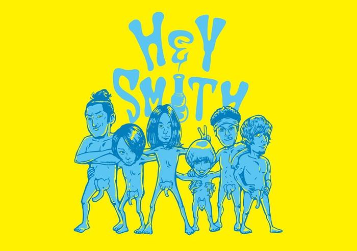 "HEY-SMITH、11月に自主企画イベント""日韓交流戦""開催決定! 初の韓国ツアーも!"