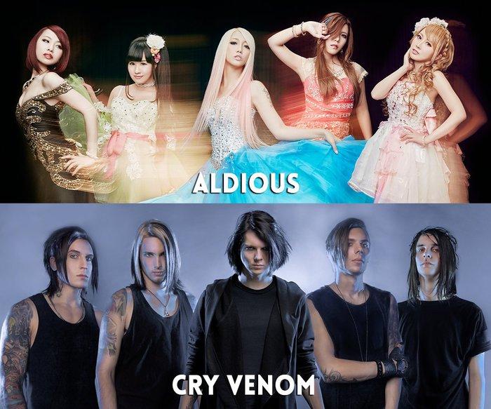 """""""LOUD PARK 17""""、オープニング・アクトにAldious、CRY VENOM出演決定!"""