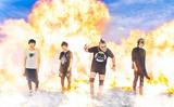 """ラウド・ポップ・モンスター""""Laxity""""、11/1にデビュー・シングル『EVIL PARTY』リリース決定! 全国ツアー開催も!"""