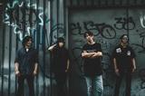 """Dragon AshのHIROKI(Gt)らによる新バンド""""ROS""""、10/18にリリースする1stミニ・アルバム『THE REST OF SOCIETY』のジャケット公開!"""