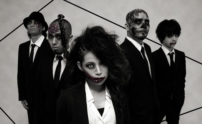 UNDEAD CORPORATION、10/4リリースの3rdアルバム『NO ANTIDOTE』レコ発ワンマン・ライヴを来年1月に名阪にて開催決定!