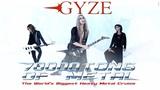 """日本人アーティストとして初めて、世界最大のメタル・クルーズ""""70000 TONS OF METAL""""への出演を控える GYZE、ツアー・ファイナル・シリーズにて3rdアルバム『Northern Hell Song』の完全再現を発表!"""