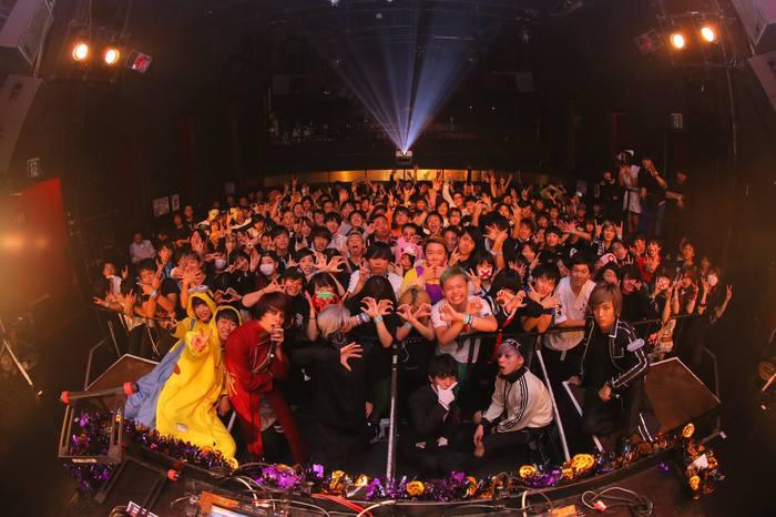 800名を動員!DJピエール中野(凛として時雨)、PassCode、TAKE(FLOW)、DJライブキッズあるある中の人、DJ KYOUKA(夢アド)出演!激ロック17周年記念DJパーティー・ハロウィン・スペシャル@渋谷asiaのレポート第2弾アップ!