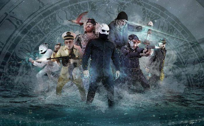 TOOL、MASTODONのメンバーらによるプロジェクト LEGEND OF THE SEAGULLMEN、来年2月に1stアルバムをリリース!新曲「Shipswreck」音源公開!