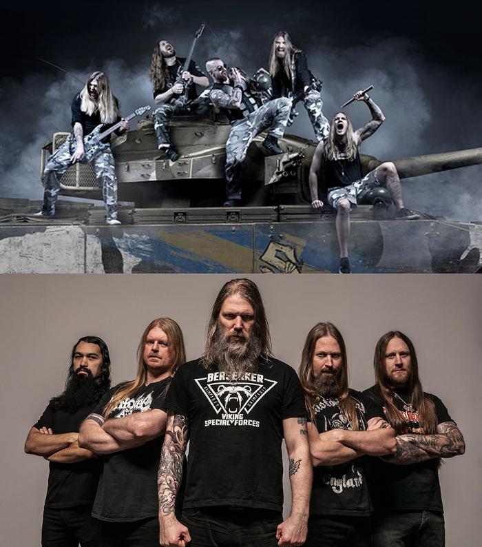 """スウェーデン発""""ウォー・メタル・バンド"""" SABATON、サポート・アクトにヴァイキング・メタル重鎮AMON AMARTHを迎え初のヘッドライン・ツアーを開催決定!"""