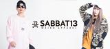 SABBAT13よりワイド・シルエットのミリタリーJKTやZIPパーカー、ロンTなどが一斉新入荷!