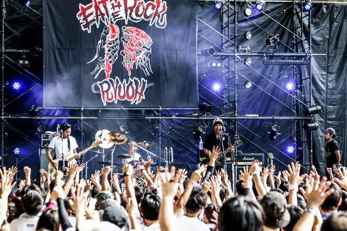 """滋賀県最大級の入場無料フェス""""EAT THE ROCK 2018 -竜王食音祭-""""、8/11に開催決定。オーディション・ライヴも"""