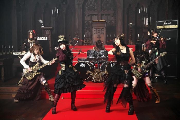 ガールズ・スチーム・メタル楽団FATE GEAR、4/11にフル・アルバム『7 years ago』リリース決定!新曲「7 years ago -refrain-」MV公開!