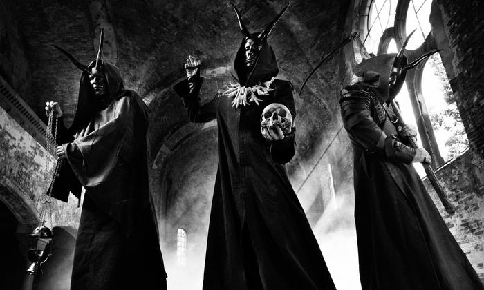 悪魔主義的デス・メタル・バンド BEHEMOTH、4/13リリースのライヴ作品『Messe Noire』より「Blow Your Trumpets Gabriel」ライヴ映像公開!