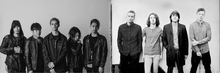 """coldrain、海外バンドをゲストに迎えるツーマン・ライヴ・シリーズ""""LOUD OR NOTHING""""開催発表!5/7、8の第1弾ゲストにUSメタルコア・バンドCROWN THE EMPIREが決定!"""