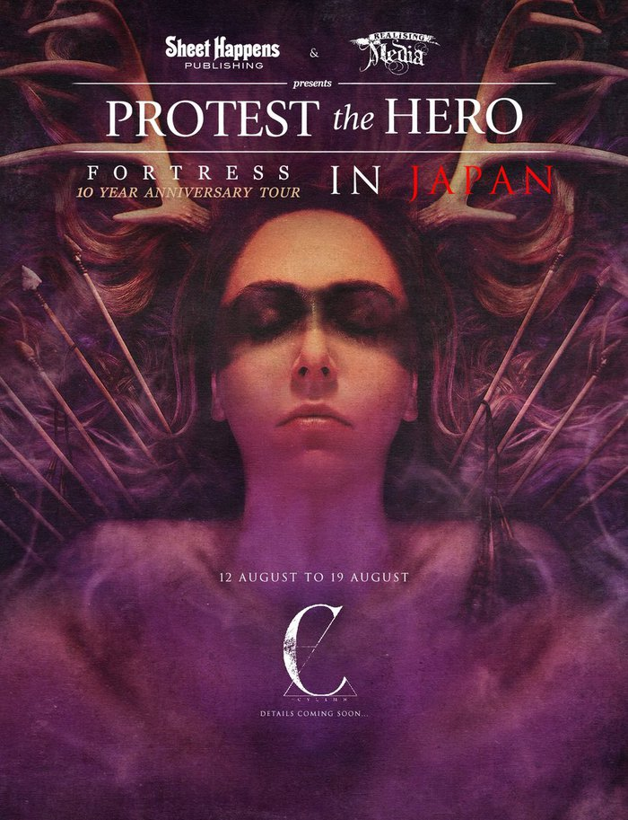 カナダのプログレッシヴ・メタル・バンド PROTEST THE HERO、2ndアルバム『Fortress』10周年記念再現ツアー8月開催決定!
