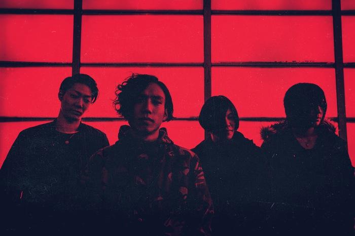 東京発4人組メタルコア・バンド A Ghost of Flare、4/6リリースの会場限定シングル『Threnody』試聴用トレイラー&トラック・リスト公開!