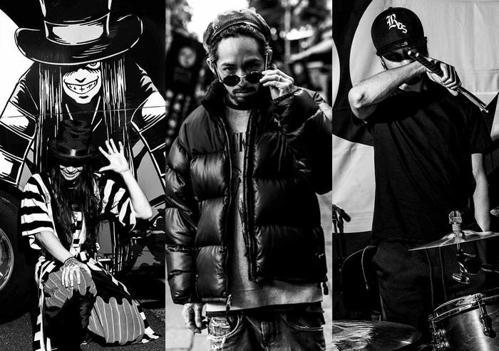 RIZE、3/28同時リリースのベスト・ミックス・アルバム&日本武道館ライヴ映像作品ジャケ写公開!アルバムのダイジェスト映像も!