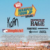 "KORN、PROPHETS OF RAGE、LIMP BIZKIT、SUICIDAL TENDENCIESら出演""Warped Tour Japan 2018""、タイムテーブル発表!"