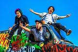 WANIMA、5/16に初映画主題歌の新曲「Drive」デジタル・リリース決定!ジャケ写も公開!