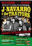 """スカ・パンク・レジェンド  THE SUICIDE MACHINESのJay(Vo)擁する""""J.NAVARRO & THE TRAITORS""""、8月に初来日公演を開催決定!COQUETTISH、OVER LIMITら出演も!"""
