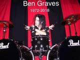 元MURDERDOLLS/DOPEのドラマー Ben Graves逝去