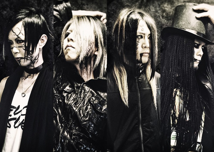 DARRELL、7/25に1stフル・アルバム『DARXNESS』リリース決定!東名阪ワンマン・ツアー開催も!