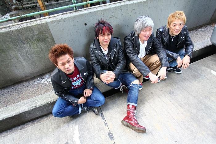 大阪パンク・ロック・シーンの雄 BURL、8/1にPIZZA OF DEATH RECORDSよりフル・アルバム『JUST PUNK,GO!!』リリース&全国ツアー開催決定!