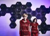 maya(Vo)とAiji(Gt)によるロック・ユニット LM.C、8/8リリースのニュー・アルバム『FUTURE SENSATION』詳細発表!ジャケットは横尾忠則が担当!