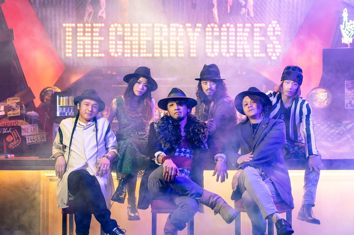 "THE CHERRY COKE$、[""THE ANSWER"" Tour]第1弾ゲスト・バンドにHAWAIIAN6、SECRET 7 LINE、MINAMI NiNE、AIRFLIPら決定!"