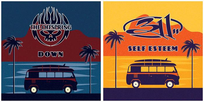 THE OFFSPRING × 311、合同ツアー開催を記念し互いの楽曲をカバー!「Down」、「Self Esteem」音源公開!