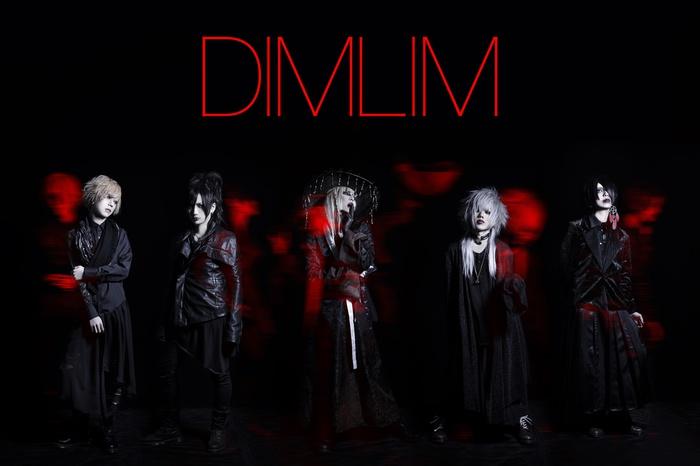 ヴィジュアル系ラウドロックの俊英 DIMLIM、1stコンセプト・フル・アルバム『CHEDOARA』全曲試聴トレーラー公開!