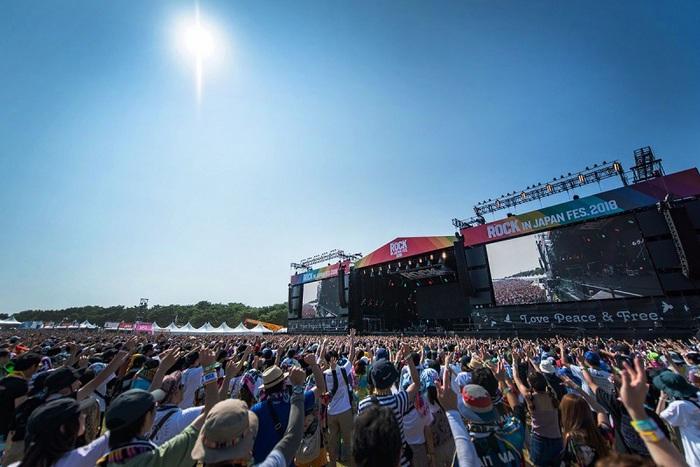 """ROCK IN JAPAN FESTIVAL 2019""、20回目を記念し来年8月に5日間にわたって開催決定!"