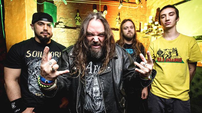 SOULFLY、Randy Blythe(LAMB OF GOD)らがゲスト参加したニュー・アルバム『Ritual』10/19リリース決定!新曲「Evil Empowered」音源公開!