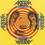 ANTHRAX、10/5に4thアルバム『State Of Euphoria』発売30周年を記念したデラックス・エディションをリリース決定!
