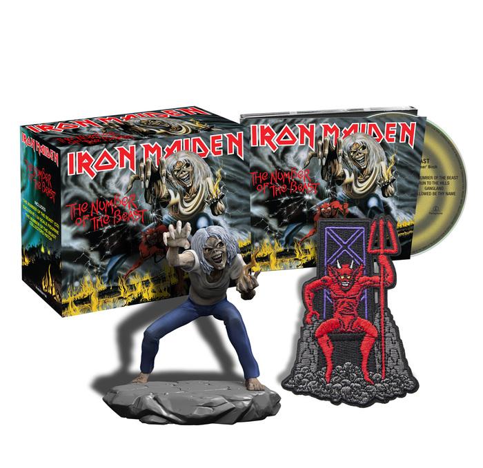 IRON MAIDEN、全スタジオ・アルバム16作品が最新リマスター音源でCDリリース決定!