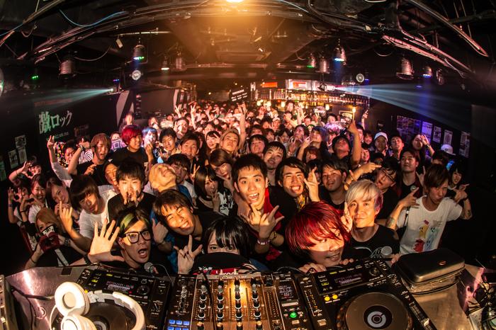 6/9東京激ロックDJパーティーロックの日スペシャルのレポート公開!次回は11/10渋谷THE GAMEにて原点回帰のナイトタイムにて開催!