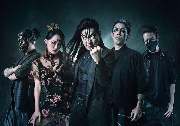 台湾発のメタル・バンド CHTHONIC、来年2月に東阪で来日公演開催決定!