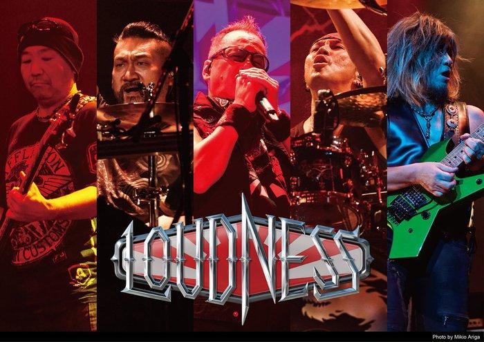 LOUDNESS、ワールド・ツアーの締めくくりはアルバム『RISE TO GLORY』全曲再現ライヴ!12/30 EX THEATER ROPPONGIにて開催決定!