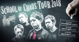 "SiM、学祭ツアー""SCHOOL OF CHAOS TOUR 2018""京都大学にて追加公演が決定!"