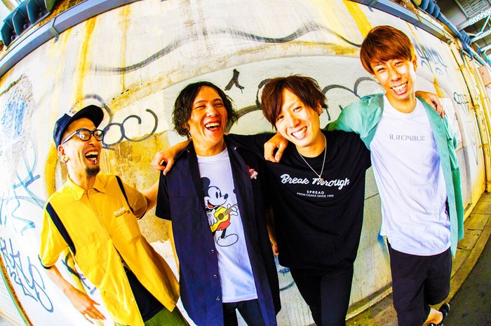 "SMASH UP、12/1開催の自主企画フェス""SMASH A GO GO Fes.18""第3弾出演バンドにBUZZ THE  BEARS、SABOTENら決定!両A面シングル詳細も発表!"